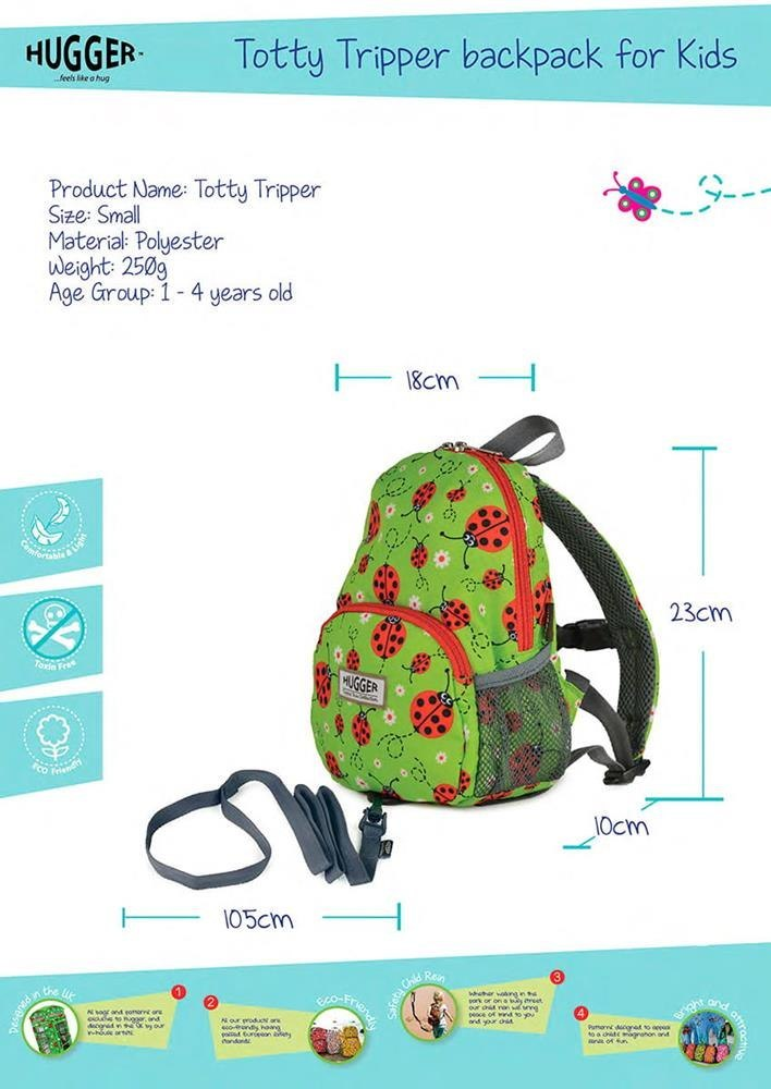 Plecak Totty Tripper - Small Flying in Cotton 1+ / Hugger