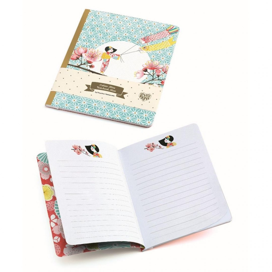 Notes Misa Lovley Paper - Djeco